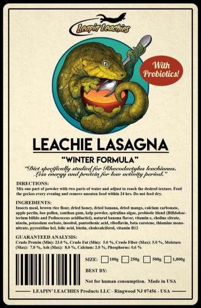 Leachie Lasagna - Winter formula